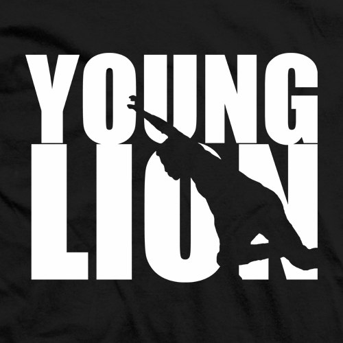 Young Lion Silhouette