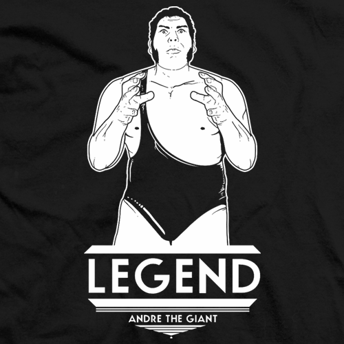 Andre The Giant Legend T-shirt
