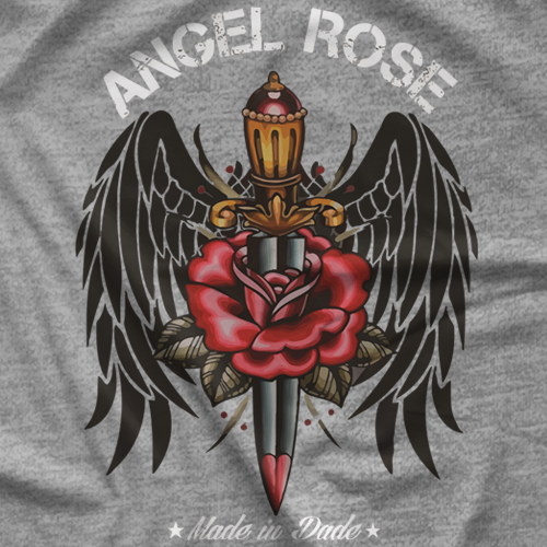 Angel Rose Dagger T-shirt