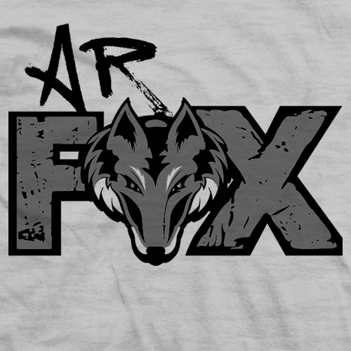 AR Fox Grey Fox T-shirt