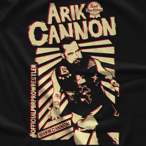 Arik Cannon Posterized T-shirt