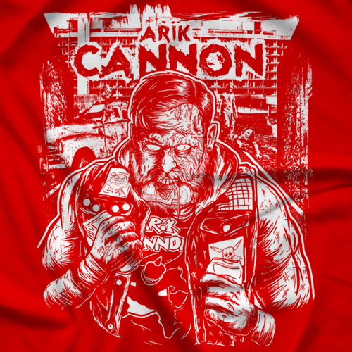 Arik Cannon Zombified T-shirt