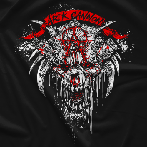 Arik Cannon Pabst Devil T-shirt