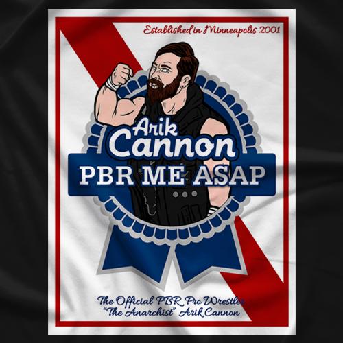 Arik Cannon U CANNON C ME - Black T-shirt