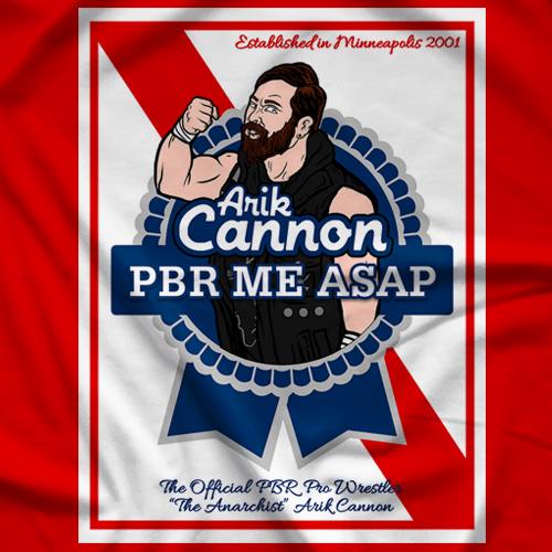 Arik Cannon U CANNON C ME - Red T-shirt