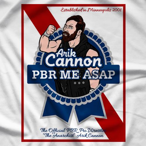 Arik Cannon U CANNON C ME - White T-shirt