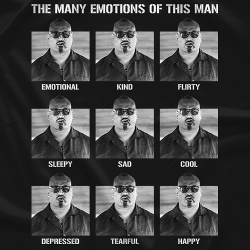 The Many Emotions of This Man