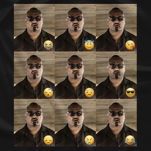 The Many Emotions of This Man [Emoji Version]
