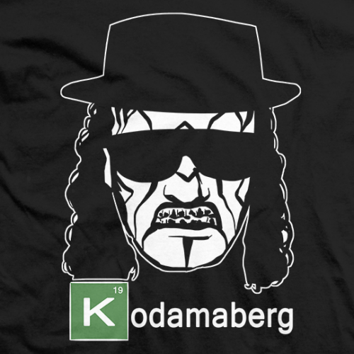 Breaking Bled: Kodamaberg - Black T-shirt