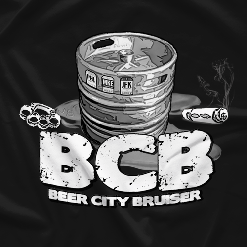 Beer City Bruiser BCBkeg T-shirt