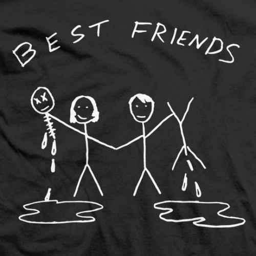 Trent Barreta Best Friends T-shirt