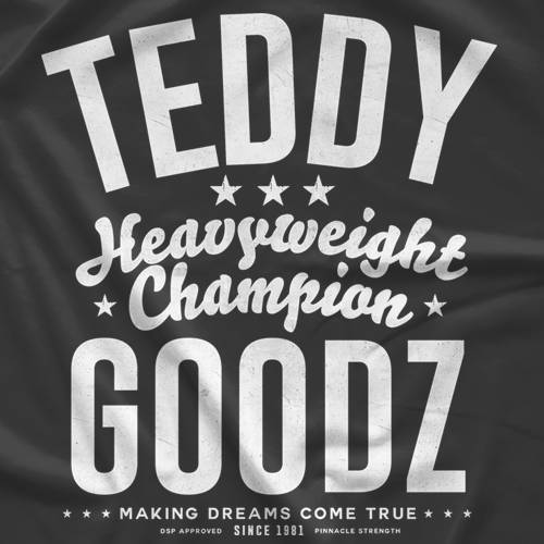Teddy Goodz Champ (White) T-shirt