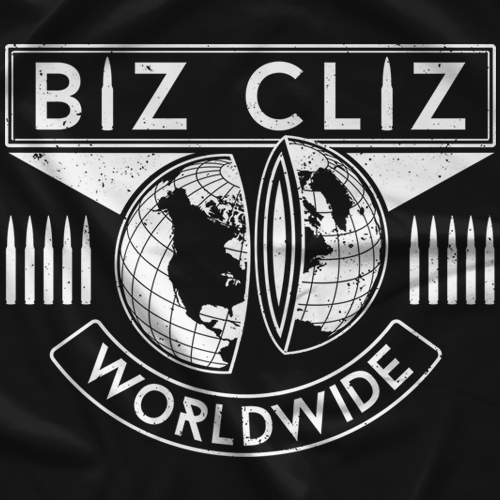 Biz Cliz Bullet Proof T-shirt