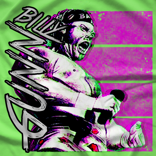 Billy Gunn Retro T-shirt