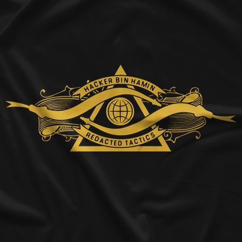 Bin Hamin Redacted Tactics T-shirt