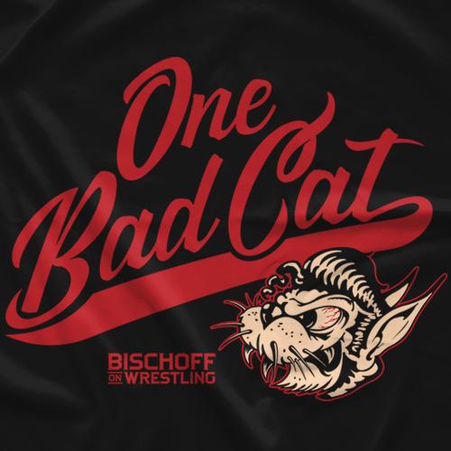 Bischoff On Wrestling One Bad Cat T-shirt