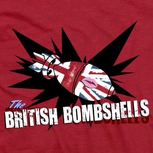 British Bombshells Red