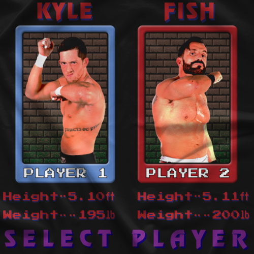 Kyle O Reilly Bobby Fish ReDragon Final Fight T-shirt