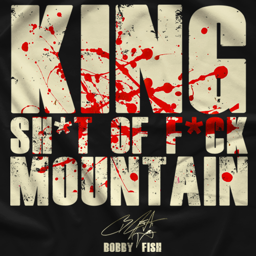 Bobby Fish King T-shirt