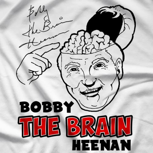 Bobby Heenan Brain Matter T-shirt