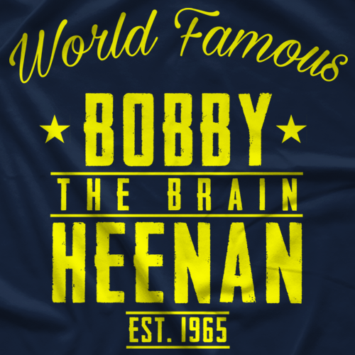 Bobby Heenan Heenan Retro T-shirt