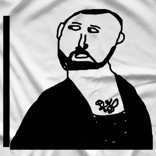 Bejamin Boone Self Portait T-shirt
