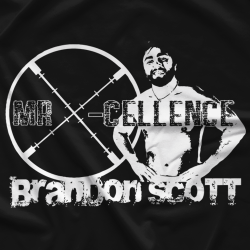 Brandon Scott Mr. X-cellence T-shirt