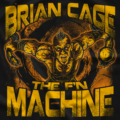 Brian Cage Destroyer T-shirt