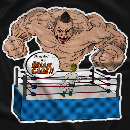 It's BRIAN CAGE! T-shirt