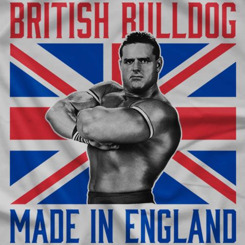 British Bulldog Made in England T-shirt