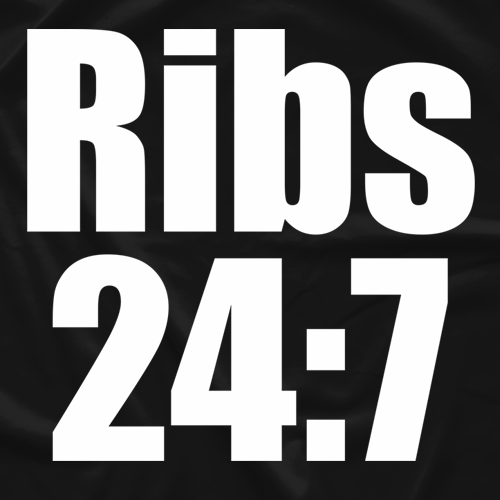 Brother Love Ribs 24:7 T-shirt