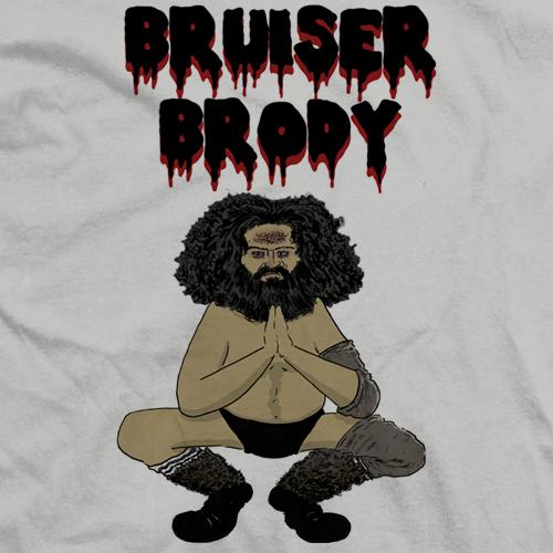 Bruiser Brody Comic T-shirt