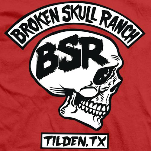 Steve Austin BSR Rocker Red T-shirt