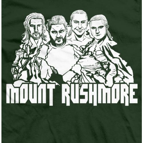 Young Bucks Mount Rushmore T-shirt
