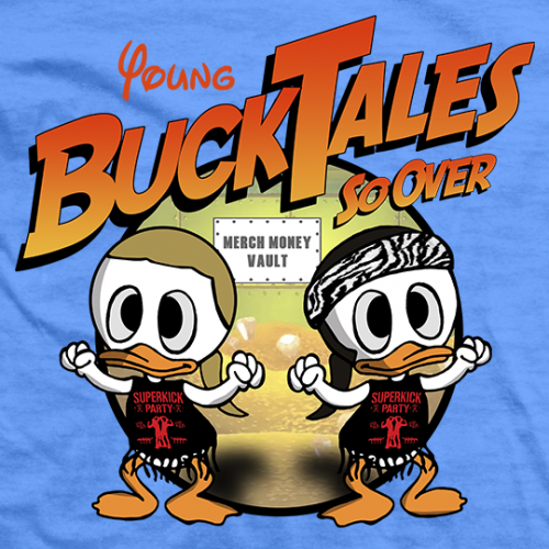 Young Bucks Buck Tales T-shirt