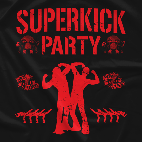 Young Bucks Superkick Club T-shirt
