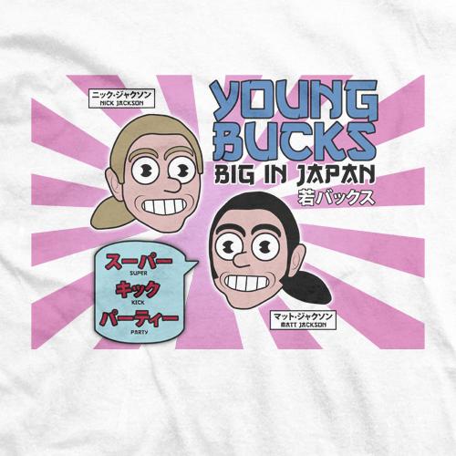 Young Bucks Big In Japan T-shirt