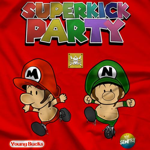 Young Bucks Superkick Bros T-shirt