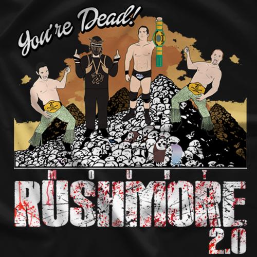 Young Bucks You're Dead 2.0 T-shirt