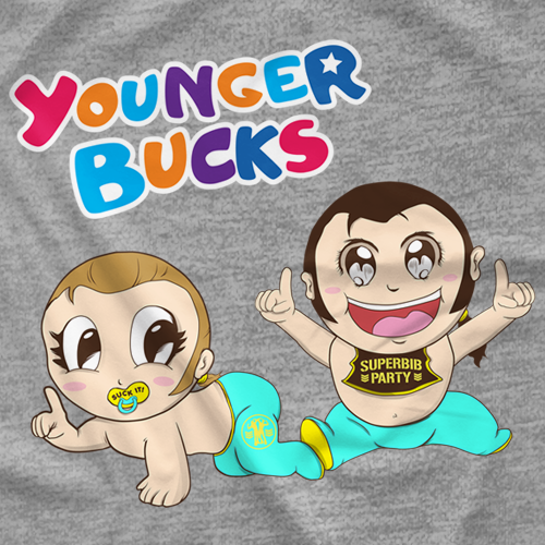 The Young Bucks Younger Bucks T-shirt