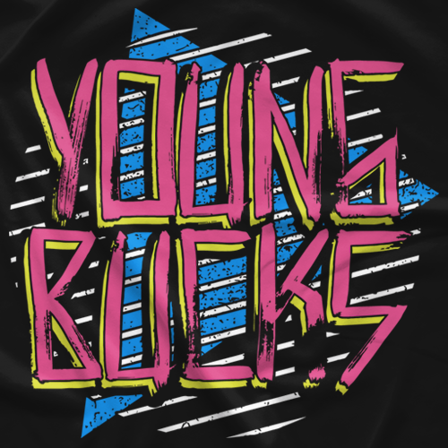 Young Bucks Retro Young Bucks T-shirt