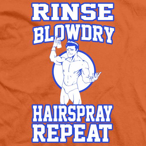 Rinse Blowdry Hairspray