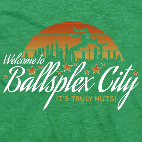 Candice LeRae Ballsplex City T-shirt