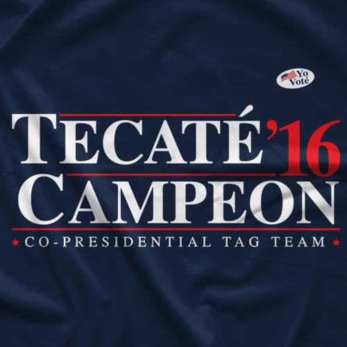 Los Hombres De Presidente T-shirt
