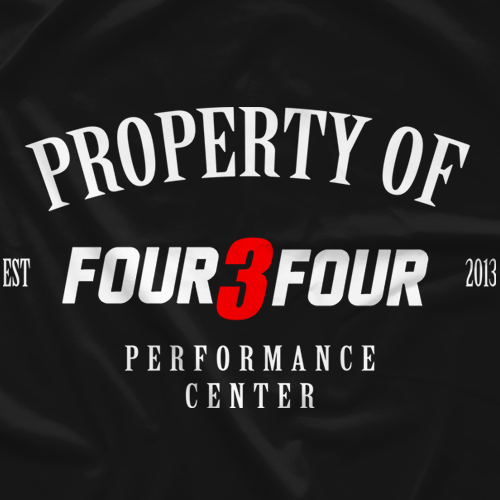 Property Of Four 3 Four