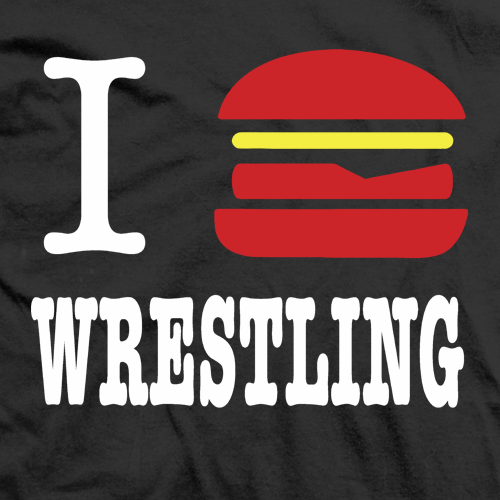 Cheeseburger Wrestling T-shirt