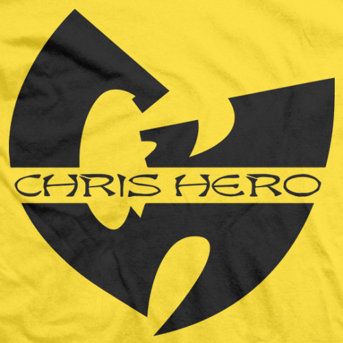 Chris Hero Wu Hero T-shirt