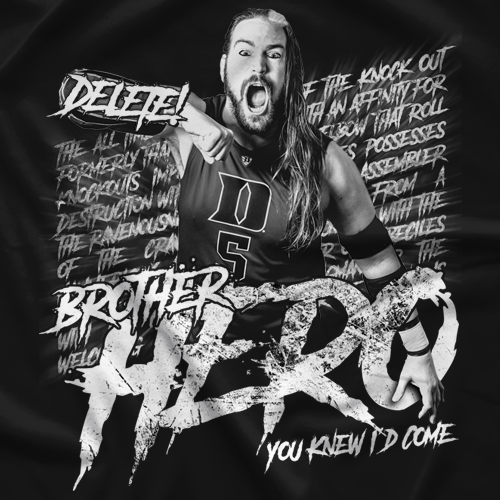 Chris Hero Brother Hero T-shirt