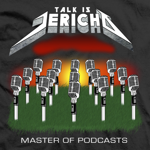 Chris Jericho Master of Podcasts T-shirt