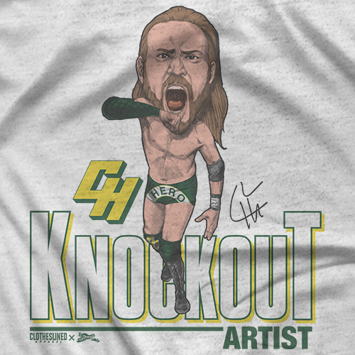 Chris Hero Clotheslined X Notz